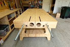 Woodworking Bench Top Material by The Ultimate Work Bench Thisiscarpentry