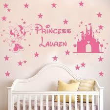 Chambre Enfant Minnie - personnalisé princesse nom minnie souris de bande dessinée