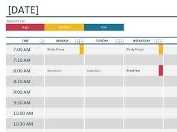 Excel Weekly Schedule Template Top 5 Resources To Get Free Weekly Schedule Templates Word