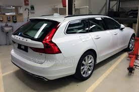 volvo wagon volvo v90 wagon officially debuts february 18