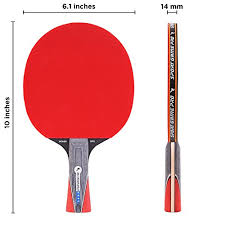 best table tennis paddle for intermediate player sport game pro ping pong paddles set includes killer spin bag for 2