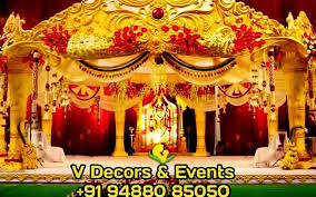 Wedding Decorators V Decors U0026 Events Wedding Decorators Brindavanam Wedding