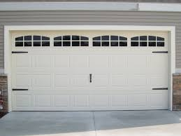 amazing single garage doors with windows with garage door makeover