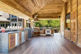 no holds barred bachelor pad outdoor kitchen pavilion in the hamptons