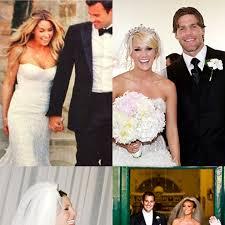 Celebrity Wedding Dresses Monique Lhuillier Celebrity Wedding Dresses Brides