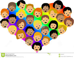 rainbow children ai stock image image 10302791