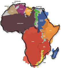 africa map states 19 maps that will help you put the united states in perspective
