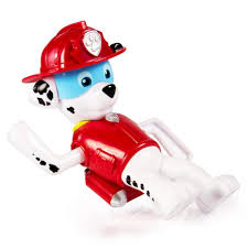 ve toys paw patrol bath paddling pup boat marshall figure and