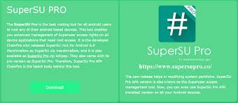 superuser pro apk supersu pro official supersu pro apk for any android