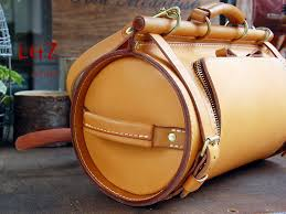 leather craft pattern bucket bag pattern paper bxk 23 leathercraft