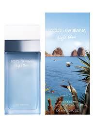 dolce and gabbana light blue men s 2 5 oz light blue love in capri dolce gabbana perfume a new fragrance for