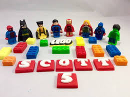 edible legos edible lego marvel cake topper from sweetscaketoppers on etsy studio