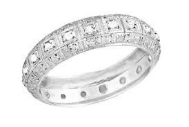 2 wedding bands antique platinum wedding bands vintage platinum wedding rings
