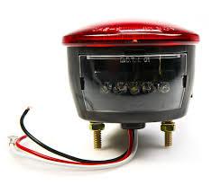 4 inch round led tail lights round led trailer light w license plate light 4 led brake turn