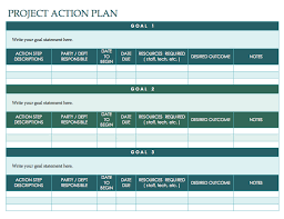 High Level Project Plan Excel Template Free Plan Templates Smartsheet