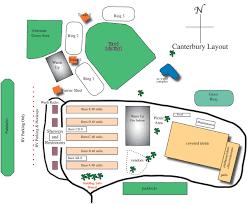 facility layout u2013 canterbury showplace florida equestrian center