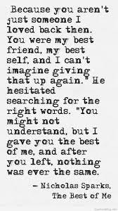 were my best friend quote