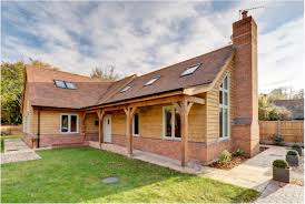 border oak weatherboarded barn style home house ideas