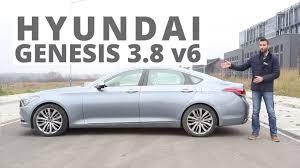 hyundai genesis test hyundai genesis 3 8 v6 gdi 315 km 2014 pl eng test