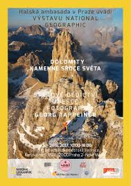 Dolomites Italy Map by Spotlight On The Unesco Dolomites In Prague With National Geographic