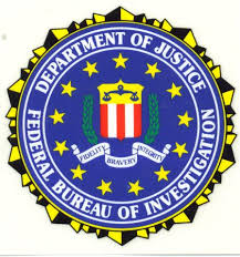 federal bureau of department of justice federal bureau of investigation decal