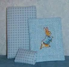 rabbit crib bedding 1 12th scale rabbit circular play by thimblemins