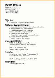 resume exles for college resume exles for college students 10 resume sle