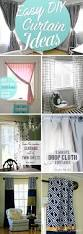 Design Your Home By Yourself 20 Awesome Inspirations For Crafting Diy Curtains All By Yourself