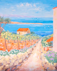 path to the sea by french paintings on deviantart