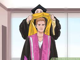 academic hoods 3 ways to wear an academic wikihow