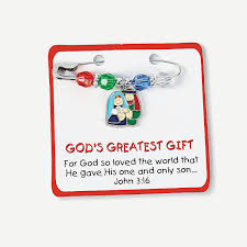 possible day 3 activity u201cgod u0027s greatest gift u201d pin craft kit