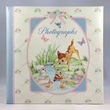 Cr Gibson Photo Album Photo Album Disney Bambi C R Gibson 20 Pages Marshall Fields Nib