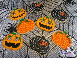 123 dough and royal icing halloween pumpkin cookies