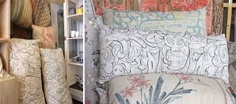 melissa white hand painted interiors painted cushions for chelsea