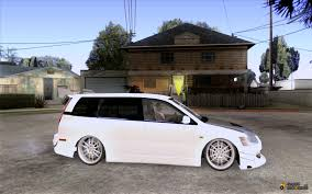 mitsubishi lancer wagon mitsubishi lancer evolution ix mr wagon drift spec for gta san andreas