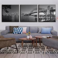 aliexpress com buy 3 pieces set sydney harbour bridge in grey