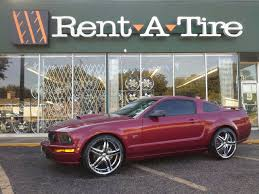 mustang 22 inch rims mustang gt on 22 s rent a wheel rent a tire
