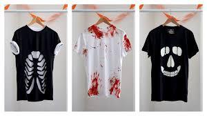Red Shirt Halloween Costume Easy Diy Halloween Shirt Ideas Halloween Costume Ideas
