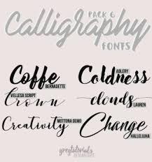 calligraphy font fonts on photoshop community deviantart