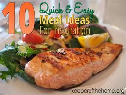 Healthy Menu Ideas For Dinner A Step By Step Guide To Creating Quick Healthy Meals For Your