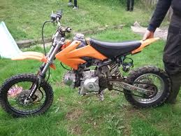 110cc loncin pit bike running order no rust tyres good in