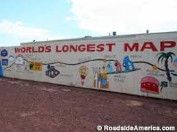 us route 66 arizona map world s map of route 66 closed meteor city arizona