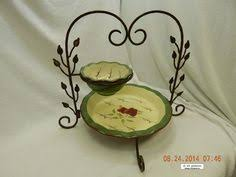 homco home interiors apple orchard collection oval platter 21001