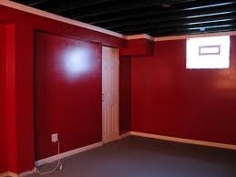 Black Ceiling Basement by Painted Basement Ceiling White Ideas Of Painted Basement Ceiling