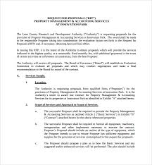 sample property management proposal template 9 free documents