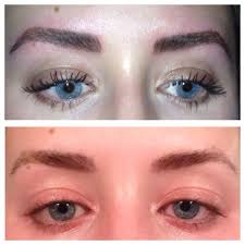 update on my tattooed eyebrows a little more than two weeks later