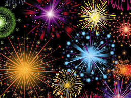 free fireworks celebration backgrounds for powerpoint animated