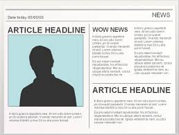 Resume Sample Format Abroad Free Templates U Samples Lucidpress by Newspaper Headline From Imagechef Com Simply Generate A Headline