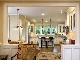 open kitchen to living room home design