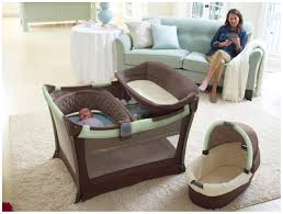 Playpen With Changing Table And Bassinet Graco Day2night Sleep System Bedroom Bassinet U0026 Pack U0027n Play